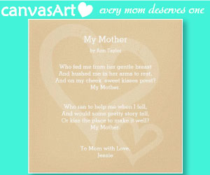 Gift for Mom canvas art